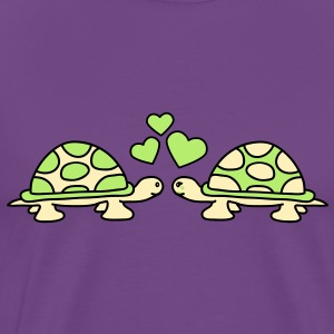 turtles_in_love T-Shirts - Men's Premium T-Shirt