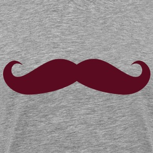 Just a Mustache - Men's Premium T-Shirt