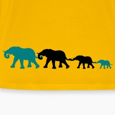 elephant_family T-Shirts