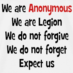 We Are Anonymous T-Shirts - Men's Premium T-Shirt