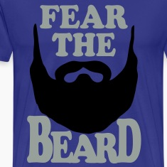 Fear the Beard Vector T-Shirt