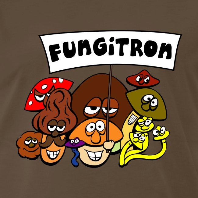 Basic Fungitron Mushroomer Shirt for Mushroom Lovers