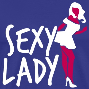 STRIPPER sexy lady sexist heels T-Shirts - Men's Premium T-Shirt