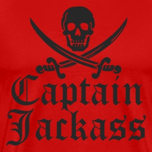 Captain Jackass T-Shirt - Men's Premium T-Shirt