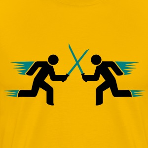speed_fighters T-Shirts - Men's Premium T-Shirt