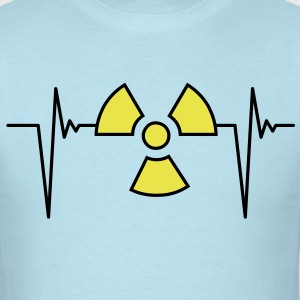 atom_pulse_2c T-Shirts - Men's T-Shirt