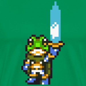 Chrono Trigger - Frog with sword T-Shirts - Men's Premium T-Shirt
