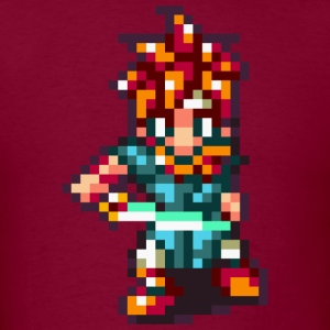 Chrono Trigger - Crono battle pose T-Shirts - Men's T-Shirt