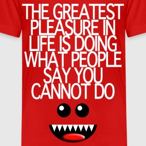 THE GREATEST PLEASURE Toddler Shirts - Toddler Premium T-Shirt