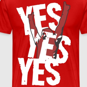 YES! YES! YES! - Men's Premium T-Shirt