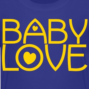 baby love cute font with love hearts lovely! Kids' Shirts - Kids' Premium T-Shirt
