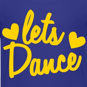 lets dance with cute little love hearts Kids' Shirts - Kids' Premium T-Shirt