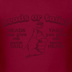 Heads or tails T-Shirts - Men's T-Shirt