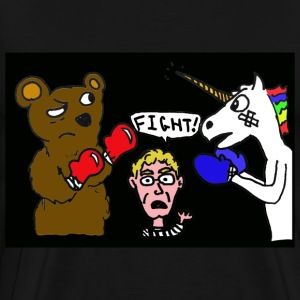 Ed Begley Jr's Fight Night - Men's Premium T-Shirt