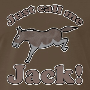 Just Call Me Jack T-Shirt - Men's Premium T-Shirt