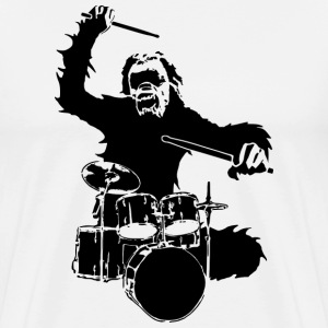 ape_music T-Shirts - Men's Premium T-Shirt
