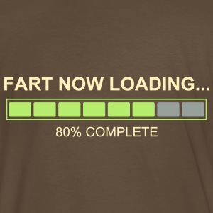 Fart Now Loading - Back of the Shirt - Men's Premium T-Shirt