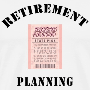 Funny Retirement T-Shirt - Men's Premium T-Shirt