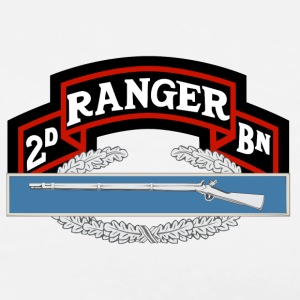 2nd Ranger CIB - Men's Premium T-Shirt