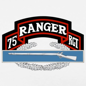 75th Ranger CIB - Men's Premium T-Shirt