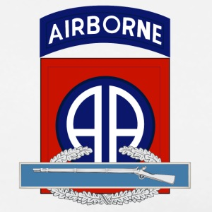 82nd Airborne CIB - Men's Premium T-Shirt