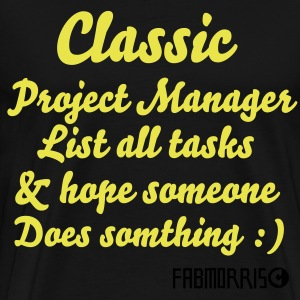 What is Cassic Project Management ?  - Men's Premium T-Shirt