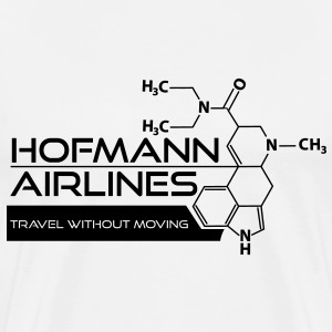 Hofmann Airlines T-Shirt [White] - Men's Premium T-Shirt