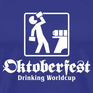 Oktoberfest Drinking Worldcup No.1 T-Shirts - Men's Premium T-Shirt
