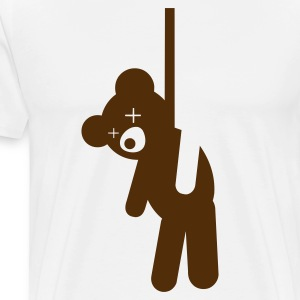 Hanged Teddy Bear T-Shirts - Men's Premium T-Shirt