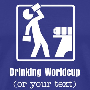 Drinking Pictogram No.1 T-Shirts - Men's Premium T-Shirt