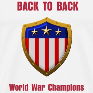 Undisputed world war champions  - Men's Premium T-Shirt
