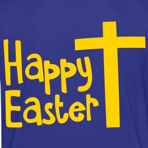 Happy EASTER with a Christian cross Toddler Shirts - Toddler Premium T-Shirt