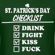 Goon - St. Patrick's Day Checklist (Dirty) - Men's