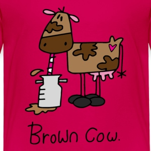 Brown Cow Toddler Shirts - Toddler Premium T-Shirt