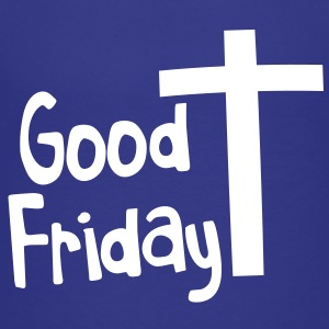 EASTER good friday with a Christian Cross Kids' Shirts - Kids' Premium T-Shirt