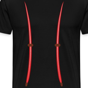 Suspender - Men's Premium T-Shirt