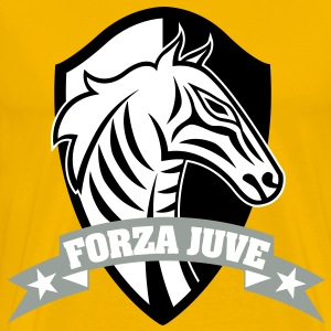 FORZA JUVE (COME ON JUVE)!!! 1897 TURIN - Men's Premium T-Shirt