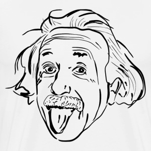 Einstein HD Design T-Shirts - Men's Premium T-Shirt