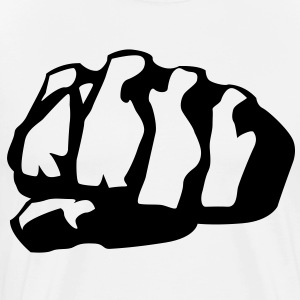 Clenched Fist HD Design T-Shirts - Men's Premium T-Shirt
