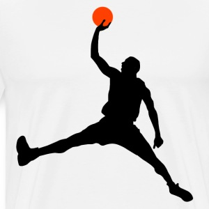 Slam Dunk HD Design T-Shirts - Men's Premium T-Shirt
