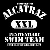 Alcatraz Swim Team - Men's Premium T-Shirt