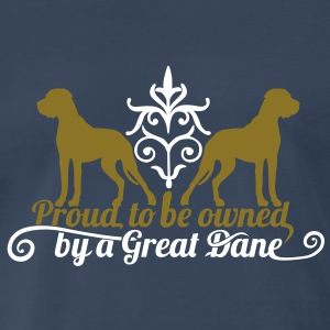 Poud Great Dane owner? T-Shirts - Men's Premium T-Shirt