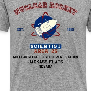 Nuclear Rocket Scientist - Men's Premium T-Shirt