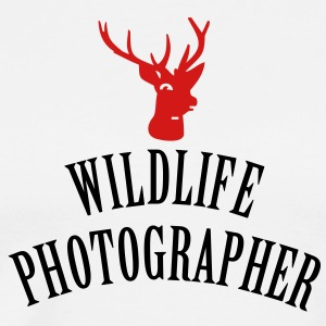 wildlife photographer (2c) T-Shirts - Men's Premium T-Shirt