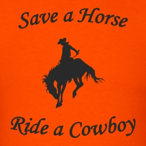 Ride a Cowboy T-Shirt - Men's T-Shirt