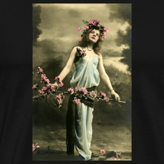 vintage fashion woman T-Shirts