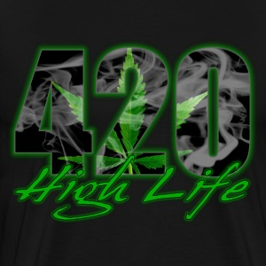 420 High Life T-Shirts - Men's Premium T-Shirt