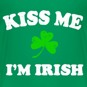 Irish Kiss Me Kids' Shirts - Kids' Premium T-Shirt
