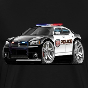 Dodge Charger Police Car T-Shirts - Men's Premium T-Shirt