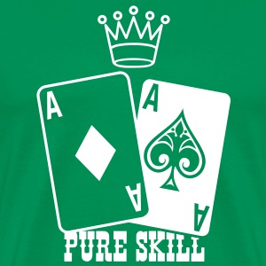 Poker - Pure Skill T-Shirts - Men's Premium T-Shirt